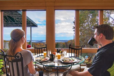 We are a very romantic Bed and Breakfast to stay at while you explore Devils Lake State Park